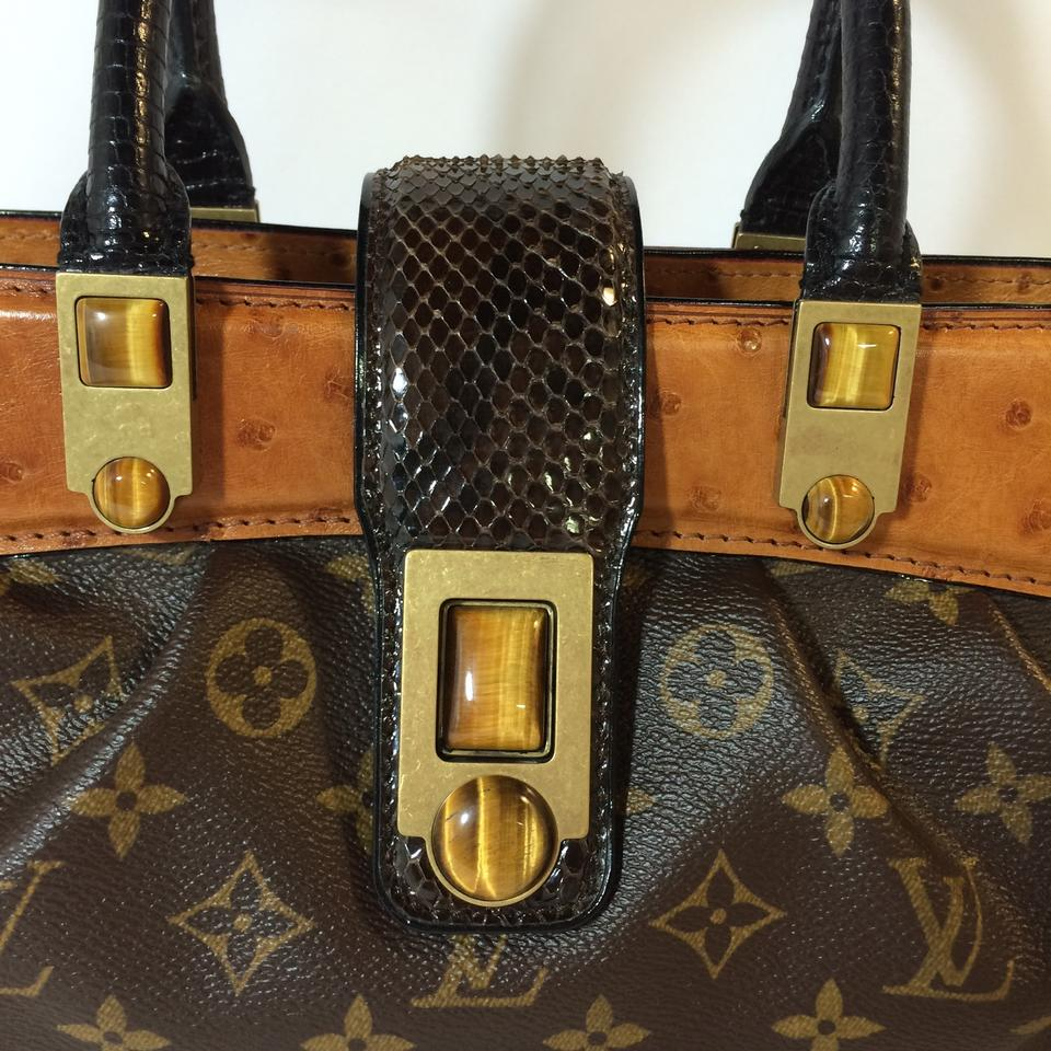 590c6ee7db84 Louis Vuitton Lv Waltz Macha Brown Exotic Leather Satchel - Tradesy