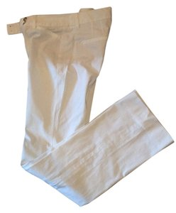 White House | Black Market Stretchy Boot Cut Pants white