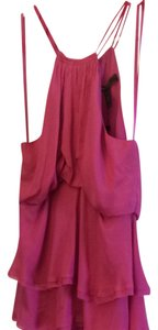 BCBGMAXAZRIA Top Hot Pink
