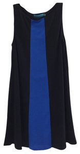 Alice + Olivia Wool Color-blocking Dress