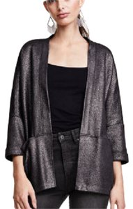 H&M Glittery 3/4 Sleeves black/glittery Jacket