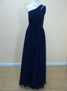 Alfred Angelo Navy 7322l Dress