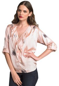 Rebecca Taylor Daisy Top Pink