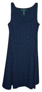 Lauren Ralph Lauren short dress Navy Blue on Tradesy