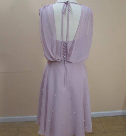 Alfred Angelo Loves First Blush Chiffon 7332s Formal Bridesmaid/Mob Dress Size 6 (S)