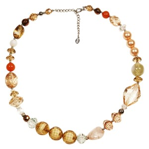 Bijoux Terner Lucite Beaded Necklace by Bijoux Terner