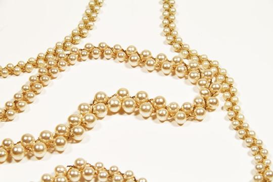 Napier Vintage Napier Pearl Necklace with Gold Chain String