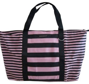 Victoria's Secret Pink / Black Travel Bag