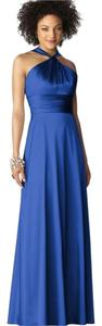 After Six Twist Bodice Slinky Roushed Midriff Prom Dress