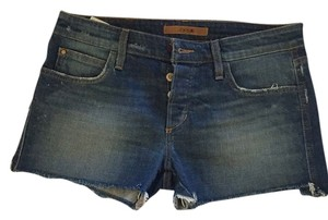 JOE'S Jeans Cut Off Shorts Distressed denim blue