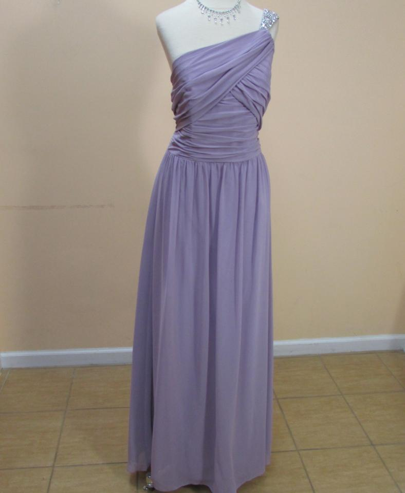 Alfred Angelo Lilac 8101l Dress On Sale, 12% Off