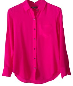 Broadway & Broome Top Fuschia, deep pink