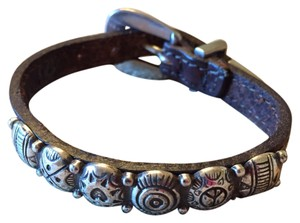 Brighton Sterling & Leather Bracelet