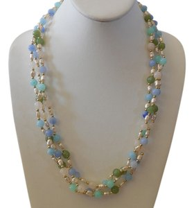 Other Ahh Summer! Gorgeous Beaded Multi Strand Necklace