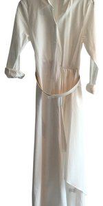 White Maxi Dress by Theory