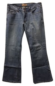 Abercrombie & Fitch Weekend Boot Cut Jeans-Distressed