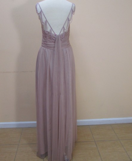 Alfred Angelo Cameo Soft Net 8617l Formal Bridesmaid/Mob Dress Size 14 (L)
