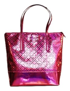 Kate Spade Metallic Purse Tote in Pink