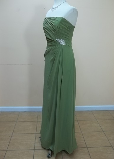 Impression Bridal Moss Chiffon 1742 Formal Bridesmaid/Mob Dress Size 14 (L)