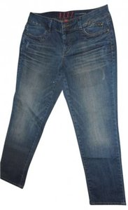 Elle 'elle' Skinny Stretch Denim Size 10 Exact Measurements Are 32