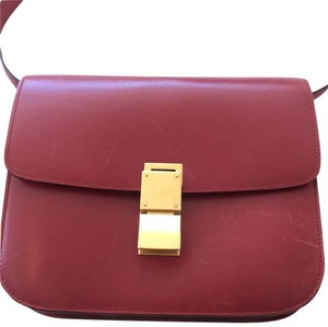 Céline Red Box Cross Body Bag