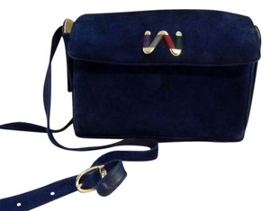 Bally Suede Cross Body Bag
