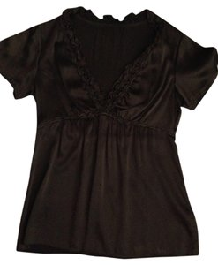 BCBG Top Brown/olive