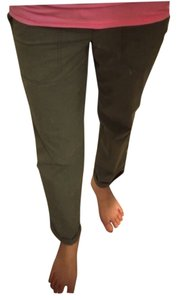 Theory Capri/Cropped Pants Army green