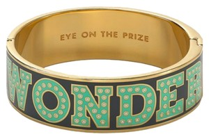 Kate Spade Kate Spade New York Idiom Hinge Bracelet Bangle ''Eye on the prize''