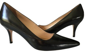 Cole Haan black patent Pumps
