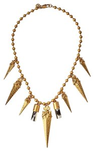 Tory Burch NEW!!! Tags Tory Burch Gold Arrowhead Bib Necklace Rare NWT