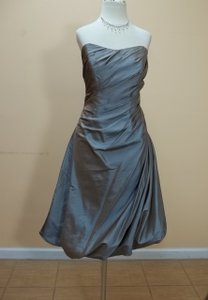 Impression Bridal Copper Taffeta 1754 Formal Bridesmaid/Mob Dress Size 12 (L)