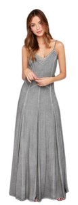 Grey Maxi Dress by Black Swan Maxi Boho