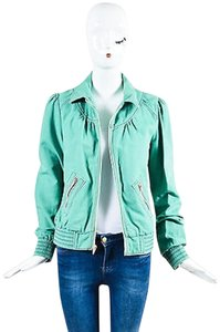 Marc Jacobs Pink Navy Green Jacket