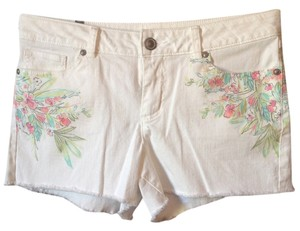 LC Lauren Conrad Shorts White
