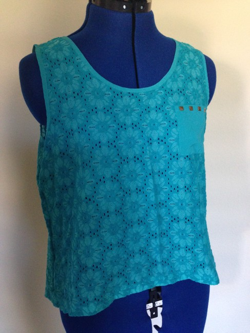 Other Top Teal Blue