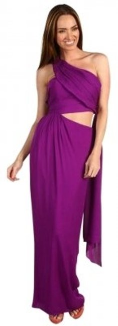 Preload https://item2.tradesy.com/images/halston-fuchsia-designer-heritage-name-sarong-style-317938502-description-strapless-gown-long-formal-142541-0-0.jpg?width=400&height=650