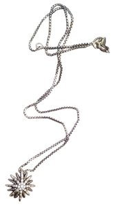 David Yurman David Yurman Starburst Small Pendant Necklace with Diamonds