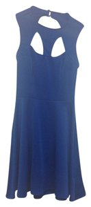 Guess Contemporary Back Zipper Detail. Decolletage Cut Detail Dress