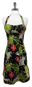 Nanette Lepore short dress Multi Halter on Tradesy