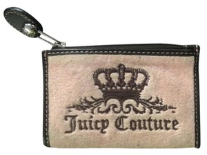 Juicy Couture Pink and Brown Juicy Couture Coin Purse
