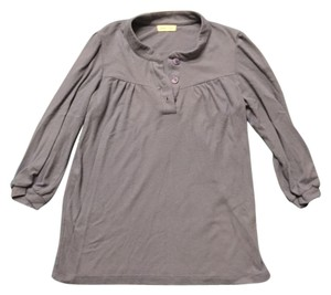 Silence + Noise Comfortable Casual Lounge Top Blue