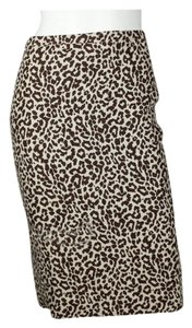 J.Crew Skirt Multi-color Animal Print