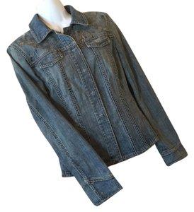 Elie Tahari Denim blue Womens Jean Jacket