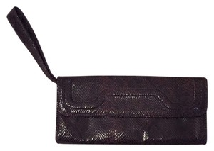 Banana Republic Burgandy Clutch