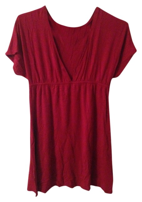 Talula Raspberry Empire Waist Tunic