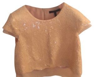 BCBGMAXAZRIA Top Peach