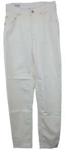 Escada Jeans Straight Pants White