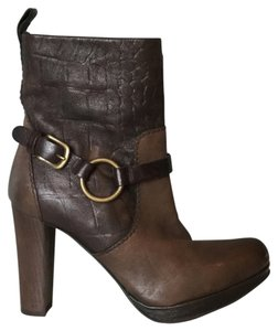 Henry Beguelin Brown Leather Boots