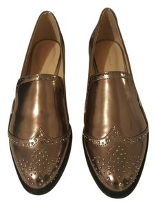 Zara Chic Summer Rose Gold Flats